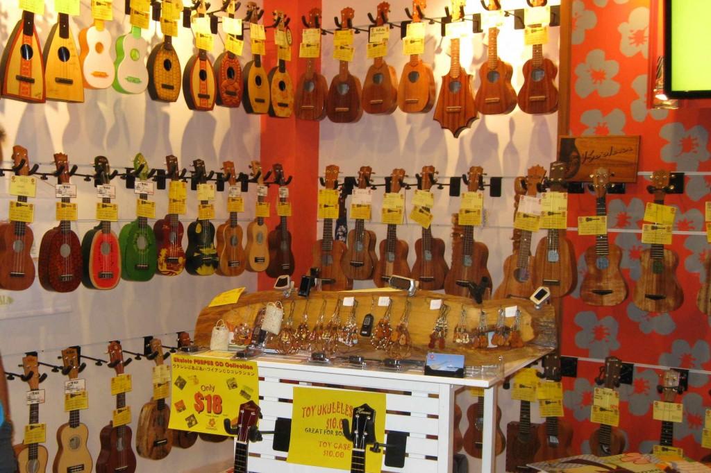 Ukulele Puapua Shop, Sheraton Waikiki 2