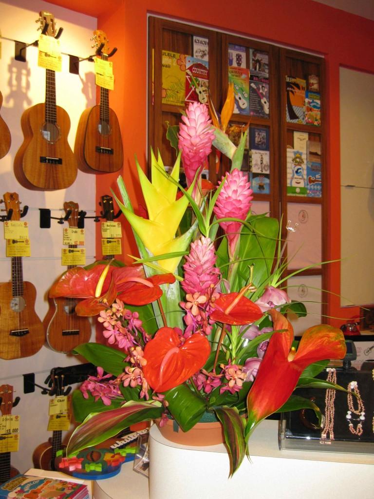 Ukulele Puapua Shop, Sheraton Waikiki