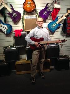 Inside Carvin Guitar 2