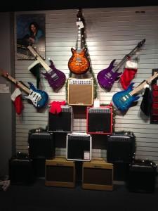 Inside Carvin Guitar 3