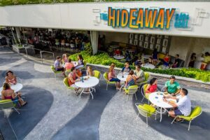 The Hideaway Bar & Grill At Universal's Cabana Bay Beach Resort
