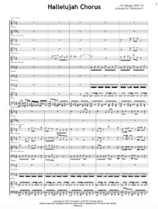 Hallelujah Chorus - Sheet Music