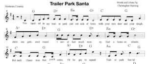 Trailer Park Santa - Sheet Music